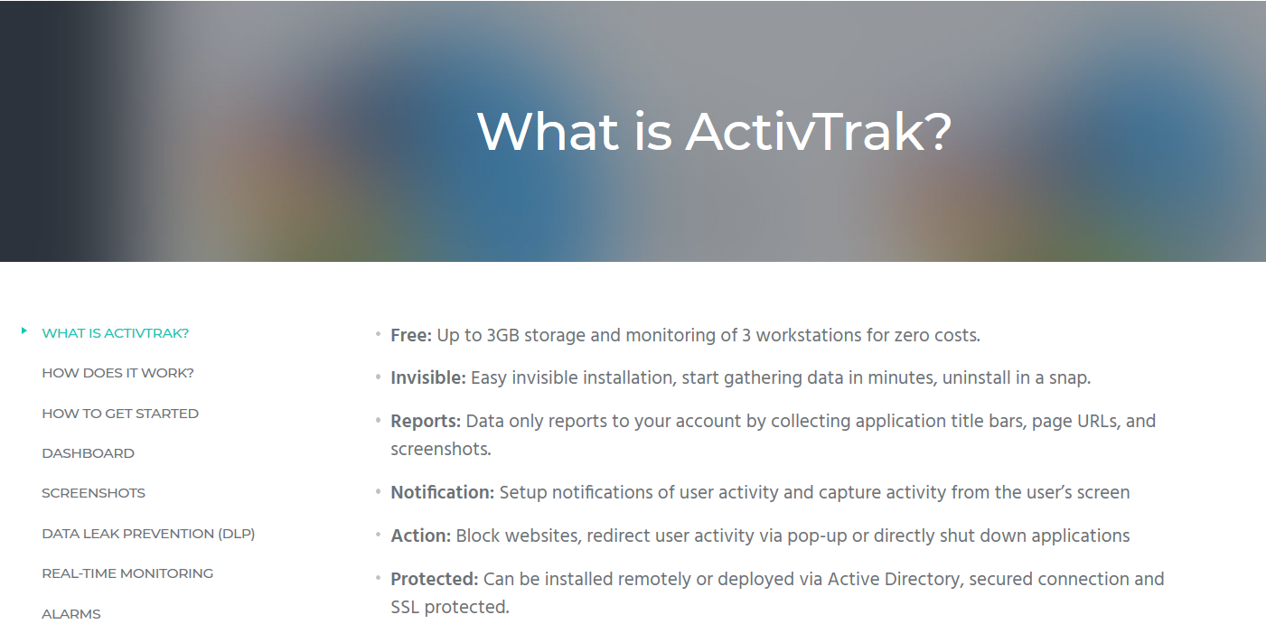 ActivTrack Invisible Installation Feature