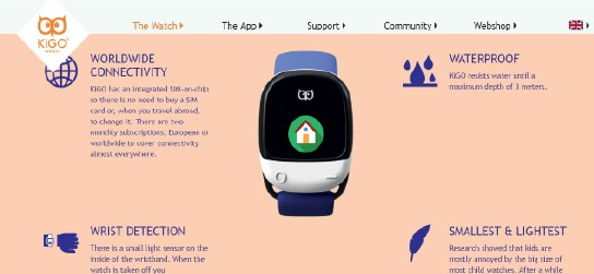 Kigo watch: Higher GPS connectivity and use can really drain power