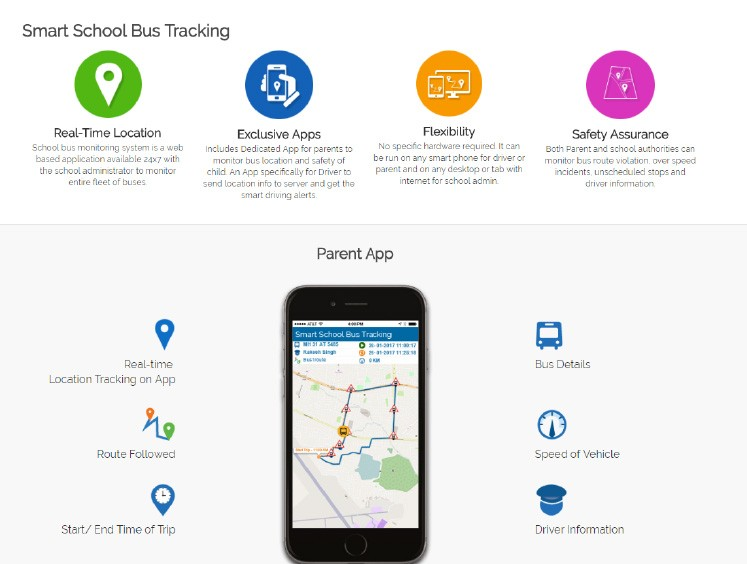 ADCC Smart School Bus Tracking