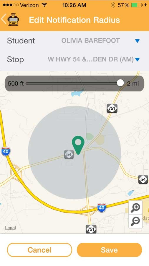 Here Comes the Bus Tracking App