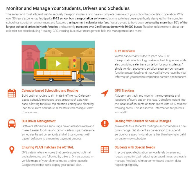 The K-12 School Bus Tracking Introduction